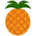 food, fruit, fruits, pineapple icon