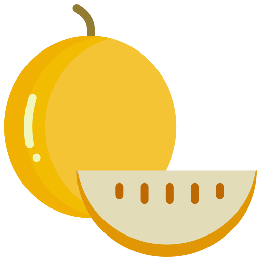 Cantaloupe, food, fruit, fruits, muskmelon icon - Free download