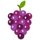 food, fruit, fruits, grapes, purple grapes