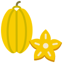 food, fruit, fruits, star fruit icon