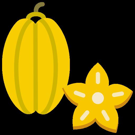 food, fruit, fruits, star fruit icon