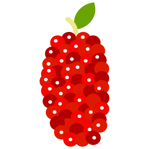 Food, fruit, fruits, mulberry icon - Free download