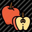 apple, fruit, healthy, vegetarian