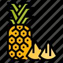 fruit, healthy, pineapple, vegetarian