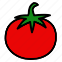 fruits, tomato, vegetable icon