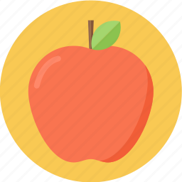 apple, fruit icon