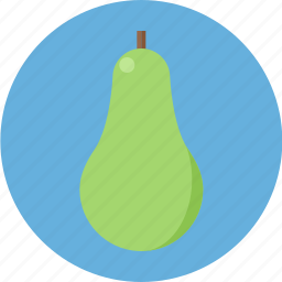 avocado, fruit, greenavocado icon