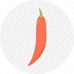 chili, hotchilli, red, spice, spicychilli icon