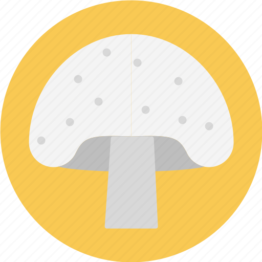 button mushroom, mushroom, white button mushroom, whitemushroom icon