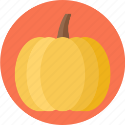 pumpkin, vegetable icon