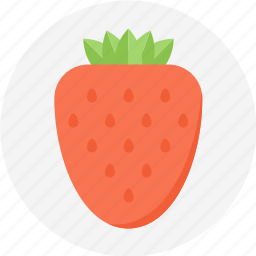 berry, fruits, strawberry icon