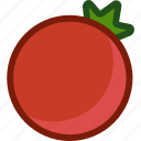 food, fruit, plant, tomato, vegetable icon