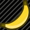 banana, food, fruit, plant icon