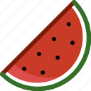 food, fruit, plant, vegetable, watermelon icon