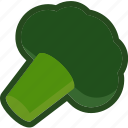 broccoli, food, plant, vegetable icon