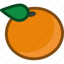 food, fruit, orange, plant, pomelo, tangerine icon
