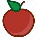 apple, food, fruit, plant icon