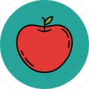 apple, fruit, healthy, juicy, nutritious icon
