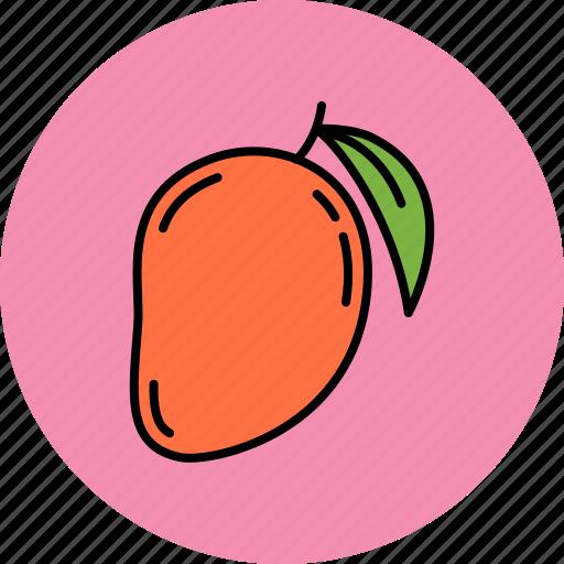 avocado, fruit, juicy, mango, sweet icon