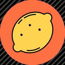 fruit, juicy, lemon, nutritious, sour icon