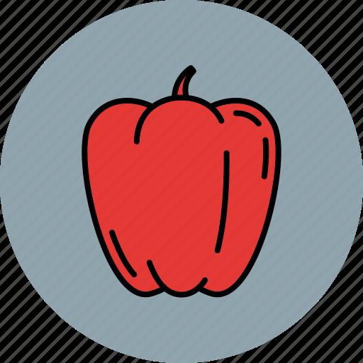crunchy, food, paprika, vegetable icon