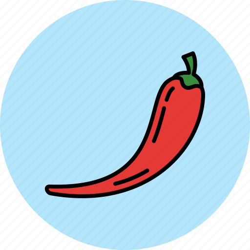 chili, food, hot, pepper, vegetable icon