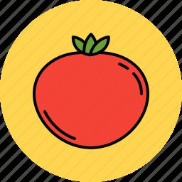 juicy, nutritious, tomato, vegetable icon