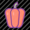 paprika, pepper, vegetable, fruit, food