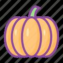 pumpkin, vegetable, fruit, halloween, food