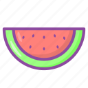 watermelon, fruit, healthy, food, vegetable