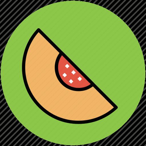 cantaloupe melon, food, fruit, honey dew, melon, melon slice icon