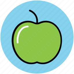 apple, food, fruit, healthy diet, healthy food icon