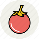diet, food, fruit, healthy diet, persimmon icon