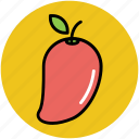 food, fruit, healthy diet, mango, stone fruit icon