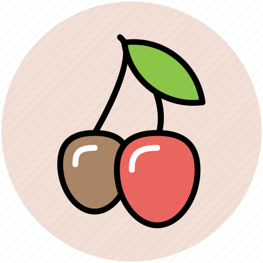 cherries, cherry, cherry fruit, food, fruit, healthy food, stone fruit icon