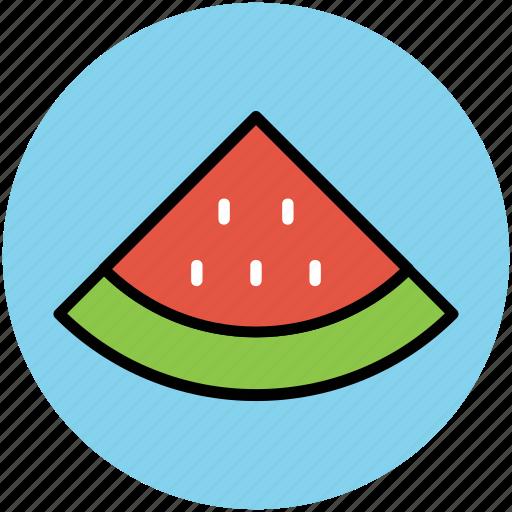diet, eating, food, fruit, healthy food, watermelon slice icon