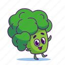 broccoli, character, food, vegetable
