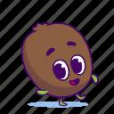 character, food, fruit, kiwi