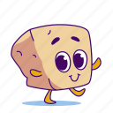 character, cheese, tofu icon