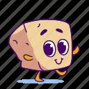 character, cheese, tofu