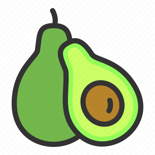 agriculture, avocado, crop, dessert, fruit icon