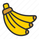 agriculture, banana, crop, fruit icon