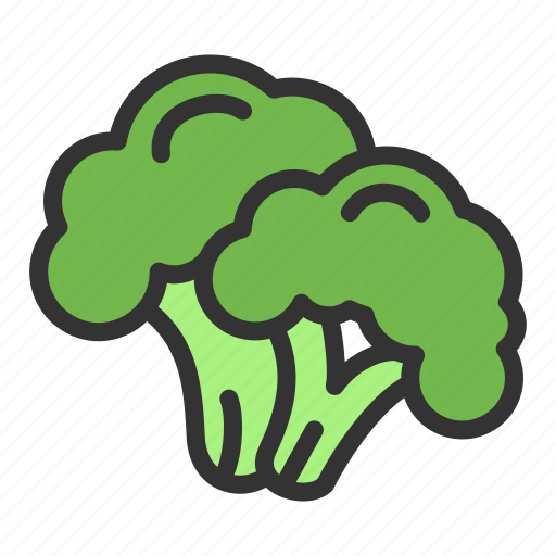 Broccoli, crop, food, vegetable icon - Download on Iconfinder