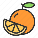 citrus, crop, juice, orange, sweet icon