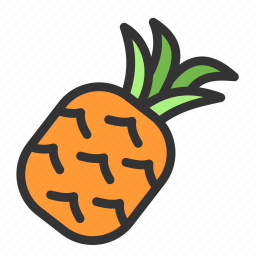 Crop, pineapple, spring, fruit icon - Download on Iconfinder