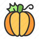 crop, fruit, halloween, pumpkin, vegetable icon