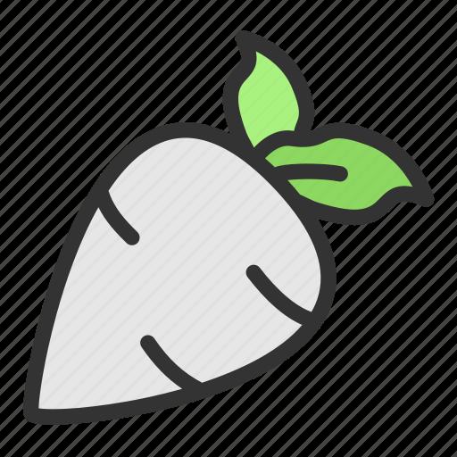 Crop, raddish, turnip, agriculture, harvest, vegetable icon - Download on Iconfinder