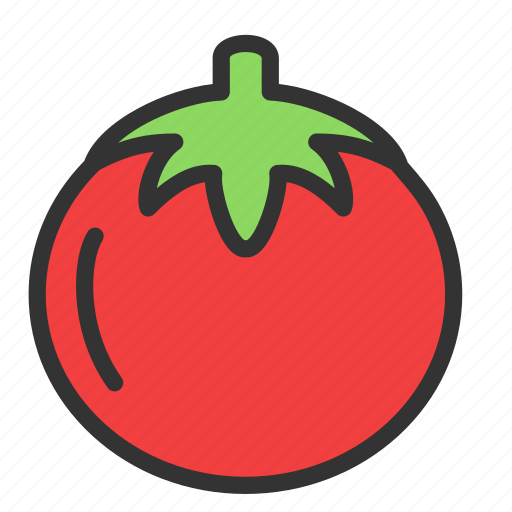 Food, tomato, vegetable, agriculture, crop icon