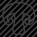 champignon, mushroom icon