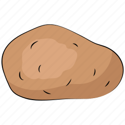 diet, food, healthy diet, nutrition, potato, vegetable icon